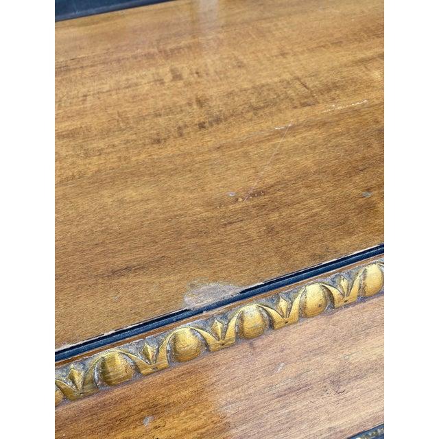 Gold Vintage Hollywood Regency Dresser Commode For Sale - Image 8 of 13