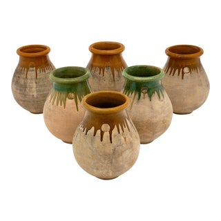 Vintage French Jardiniere Pots - Set of 5 For Sale