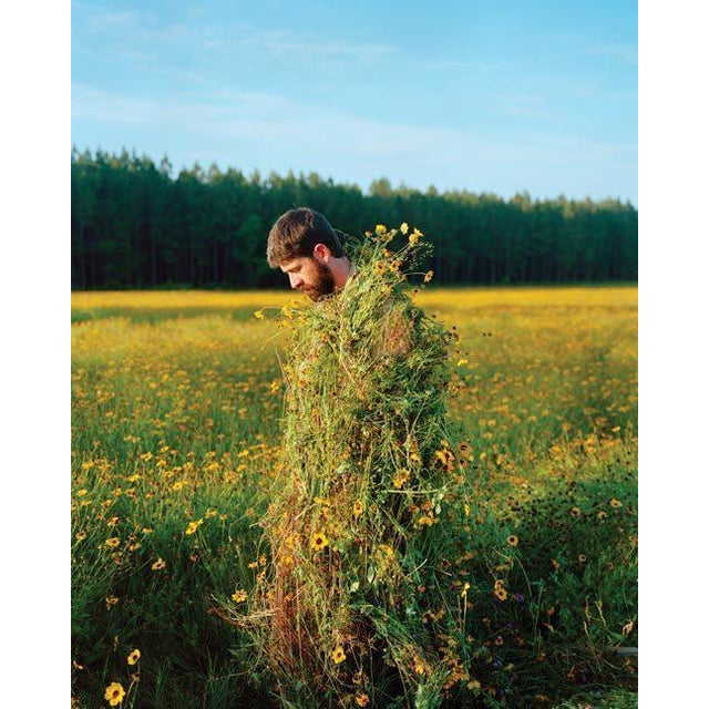 Contemporary Jeremy Chandler, Eric in a Ghillie Suit (Flowers), 2011 For Sale - Image 3 of 3