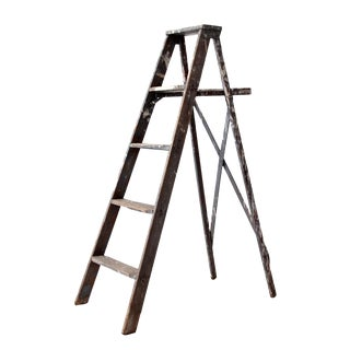 Vintage Painter's Ladder For Sale