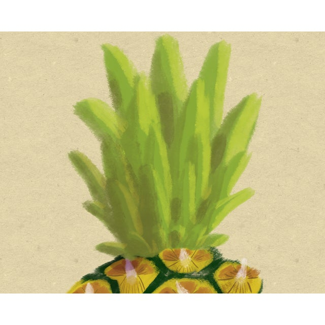 Paper Modern Pineapple Wall Art, 2017 For Sale - Image 7 of 9