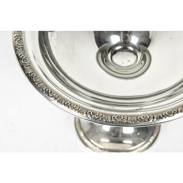 Pair of Sterling Silver Dessert Compotes For Sale In New York - Image 6 of 7