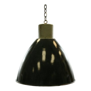 Charcoal Gray Vintage Industrial Pendant Light