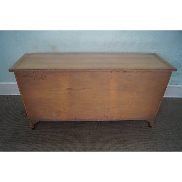 American of Martinsville American of Martinsville Mid Century Modern Credenza Sideboard For Sale - Image 4 of 10