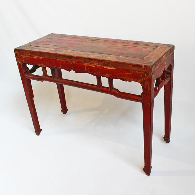 Original Mongolian Alter Console Chairish