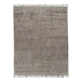 New Moroccan Fluffy Collection Rug 10'1 X 13'11 For Sale