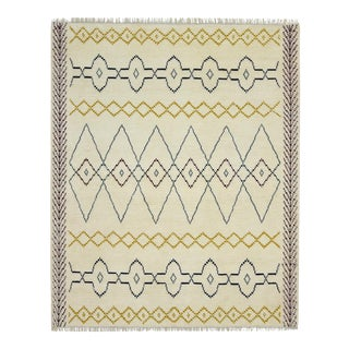 """One-of-a-Kind Bohemian Hand-Knotted Area Rug 8' 0"""" x 10' 0"""" For Sale"""