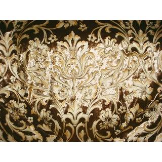 Lee Jofa Pallanza Silver Fox Silk Velvet Upholstery Fabric - 3.5 Yards For Sale