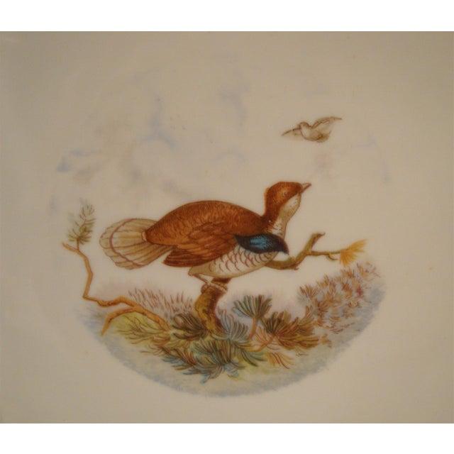 Antique Austrian Game Bird Serving Platter For Sale In Richmond - Image 6 of 7