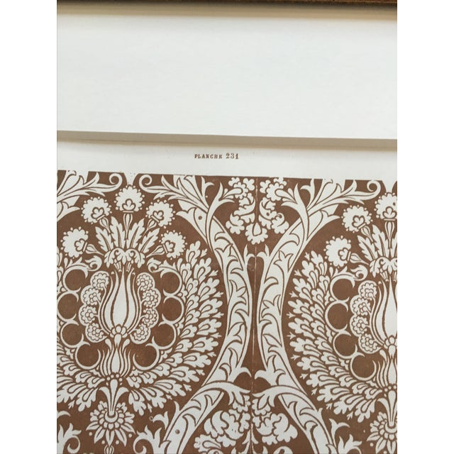 Framed Book Plate Pattern Prints - Set of 6 For Sale - Image 10 of 10