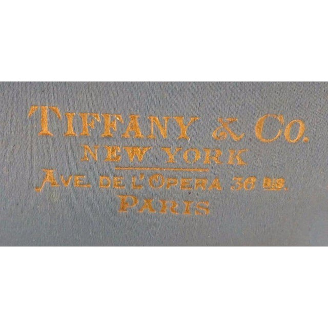 Late 19th Century Tiffany and Co Sterling Silver Plate With Cherubs in Fitted Box Fabulous! For Sale - Image 5 of 7