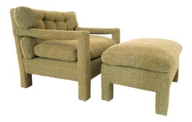 Image of Modern Chair and Ottoman Sets