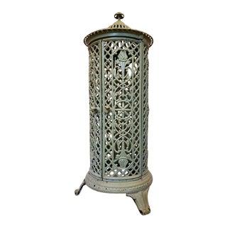 19th Century French Art Nouveau Cast Iron Parlor Stove For Sale