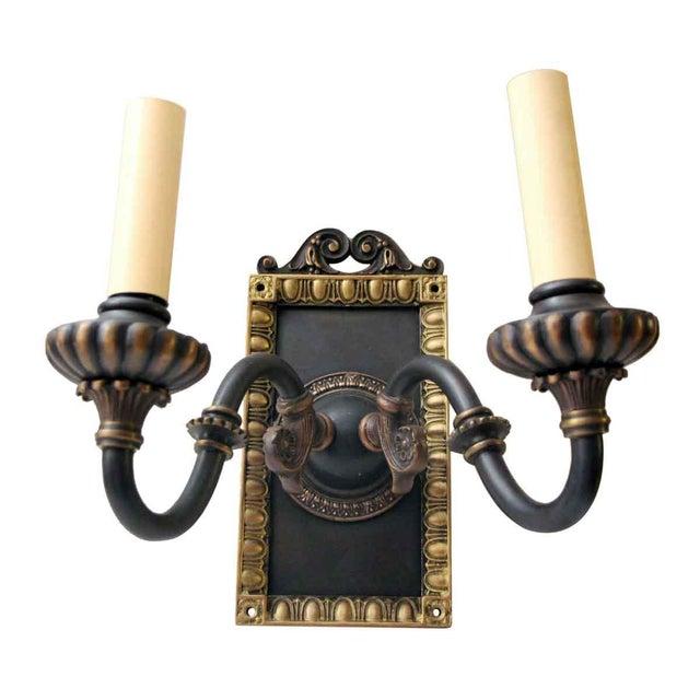 1920s Vintage Tudor Sconces - a Pair For Sale - Image 10 of 10