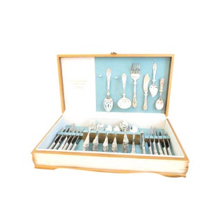 Reed & Barton Tiger Lily Flatware & Serving Utensils