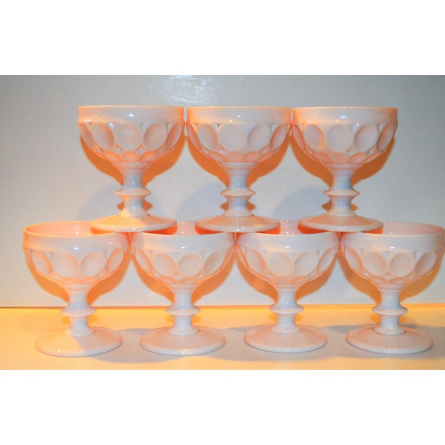 Vintage Champagne Coupe Glasses - Set of 7 - Image 6 of 8