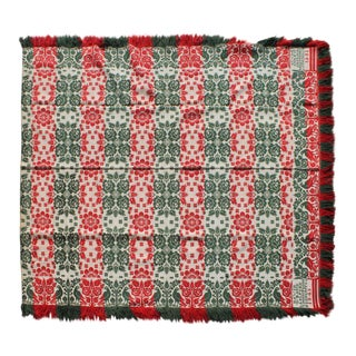 Coverlet Signed & Dated David Weand Ls Alfordt Montgomery ,Co, 1845 For Sale