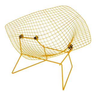 Rocking Diamond Chair by Harry Bertoia For Sale