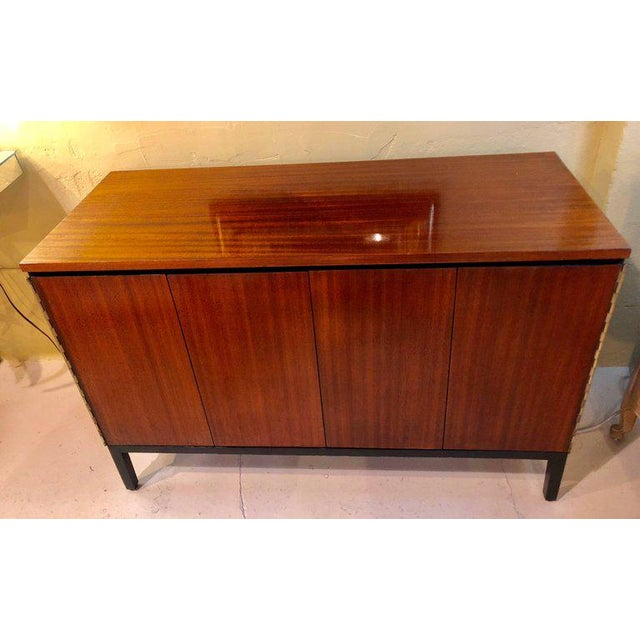 A fine custom quality pair of Mid-Century Modern Paul McCobb for Calvin chests or nightstands. Fine custom piano hinged...