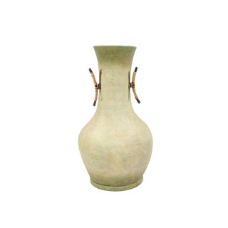 Rustic Earthernware Vase For Sale