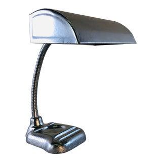 Vintage Industrial Style Gooseneck Desk Lamp For Sale