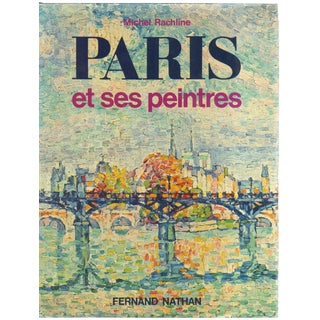 """1980 """"Paris"""" Coffee Table Book For Sale"""