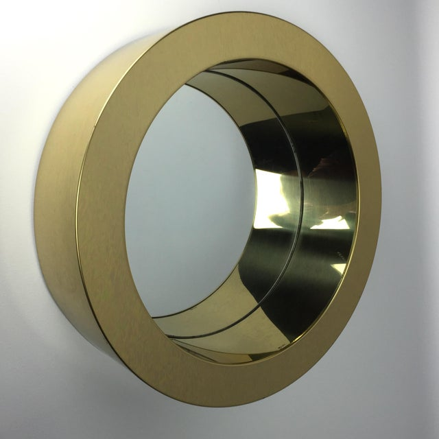 Curtis Jere C. Jere Porthole Mirror For Sale - Image 4 of 4