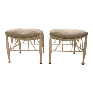 Theodore Alexander Hayward II Stool - Pair For Sale