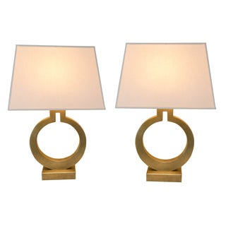 Table Lamp (Pair) by E. F. Chapman