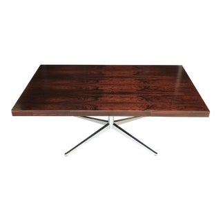 Florence Knoll Rosewood Partners Desk For Sale