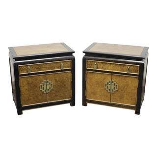 Century Chin Hua by Raymond K Sobota Nighstands / Bedside Chests - Pair For Sale