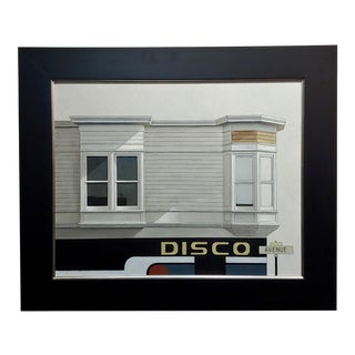 "Sergon ""Disco Avenue"" Oil Painting on Canvas For Sale"