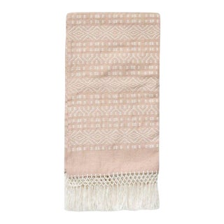 Dessert Blush Pink Throw For Sale