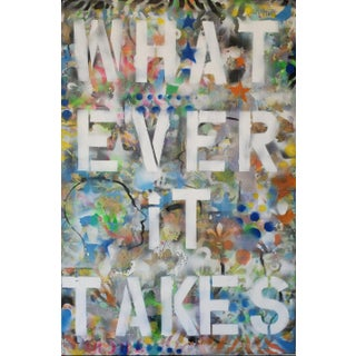 Whatever It Takes Mixed Media Painting For Sale
