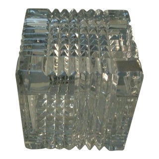 Mikasa Crystal Jewelry Box For Sale