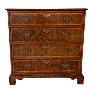 Burlwood Chest of Drawers For Sale