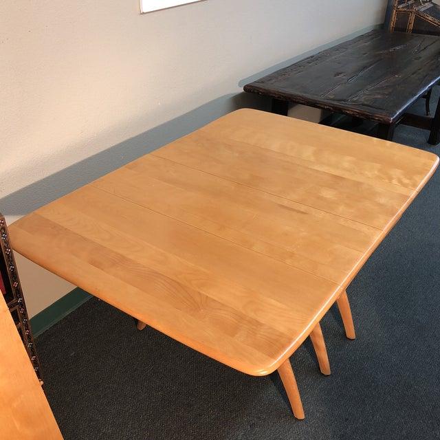 Heywood-Wakefield Drop Leaf Dining Table - Image 5 of 11