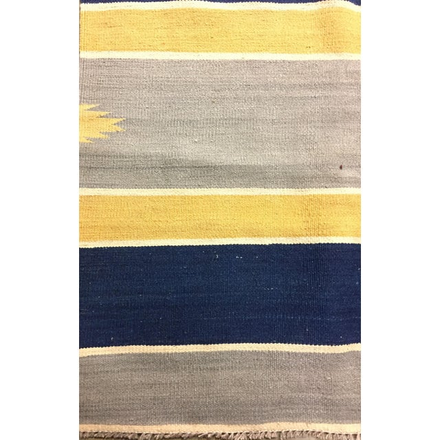 New Hand Woven Kilim 11'2 X 14'8 - Image 4 of 5