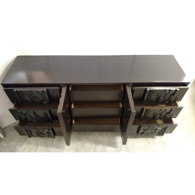 Paul Evans-Style Modernist Console - Image 9 of 9