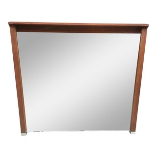 Mid Century Modern Wall Mirror by John Van Koert for Drexel Profile For Sale
