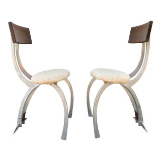Atomic Age Space Chairs - a Pair For Sale