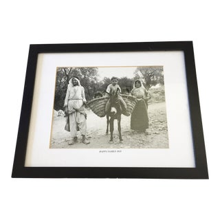 Black & White Photograph Happy Family 1935 For Sale