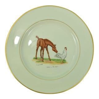1950s Vintage Frank Vosmanksy Dinner Plate For Sale