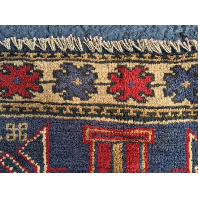 "Vintage Persian Baluchi Rug - 2'10""x4'9"" - Image 7 of 10"