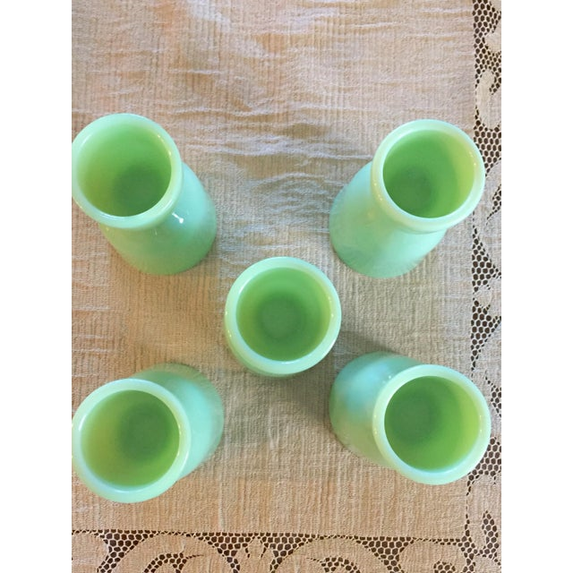 Mid-Century Modern Fire King Egg Cups - Set of 5 For Sale - Image 3 of 4
