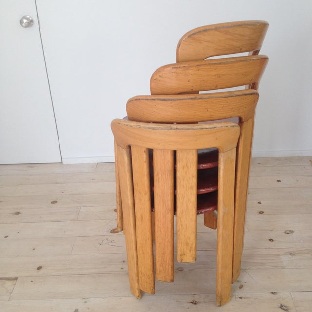 1970s Swiss Co. Dietiker Bruno Rey Chairs - Set of 4 For Sale - Image 5 of 7