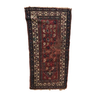Antique Persian Runner Rug - 2′11″ × 5′2″ For Sale