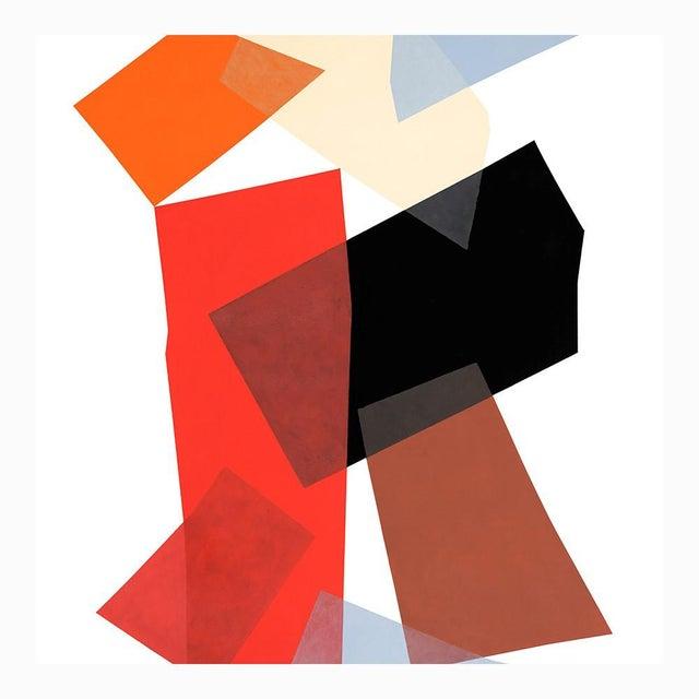 "Mid-Century Modern Abracadabra Fine Art Print 58"" X 85"" by Liz Roache For Sale - Image 3 of 6"
