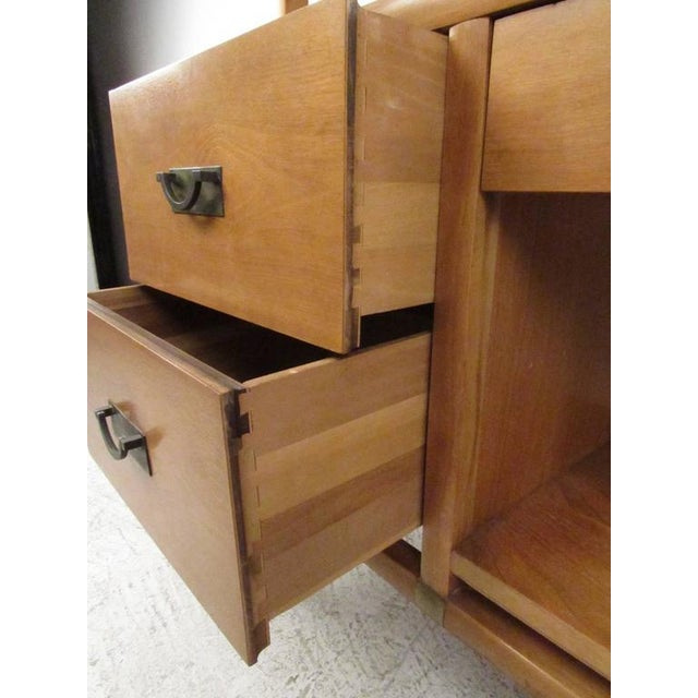 Stiehl Furniture Mid-Century Workstation For Sale - Image 5 of 9