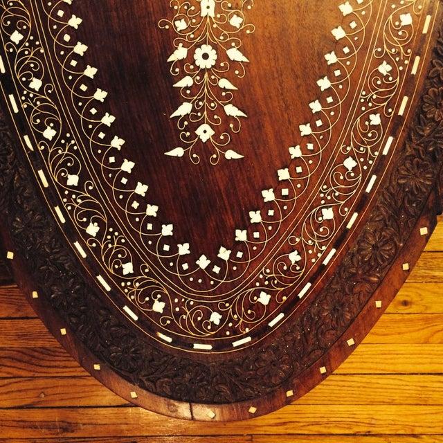 Anglo Raj Inlaid Cocktail Table - Image 6 of 8